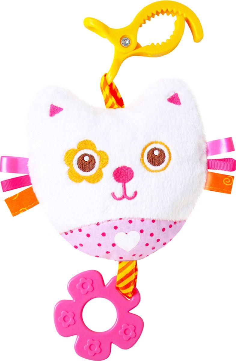 Мякиши Игрушка-подвеска ШуМякиши Котенок игрушка погремушка мякиши медвежонок колечко