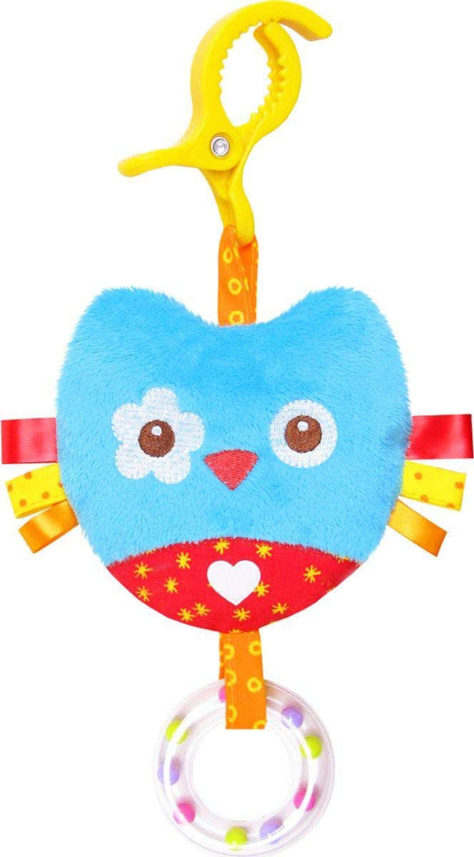 Мякиши Игрушка-подвеска ШуМякиши Сова игрушка погремушка мякиши медвежонок колечко
