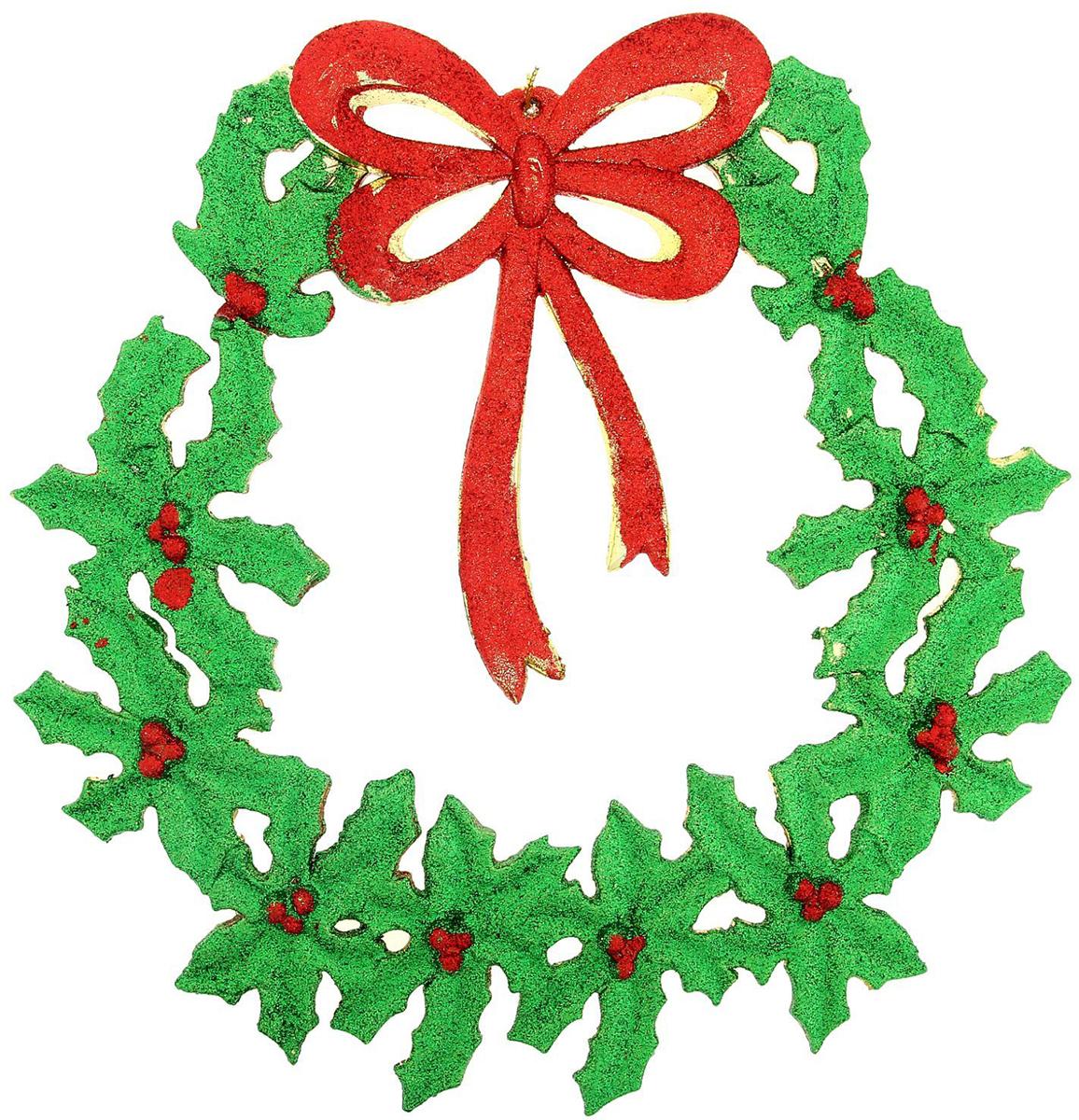 Венок новогодний Бантик веточка, диаметр 21 см1113661Невозможно представить нашу жизнь без праздников! Мы всегда ждем их и предвкушаем, обдумываем, как проведем памятный день, тщательно выбираем подарки и аксессуары, ведь именно они создают и поддерживают торжественный настрой. Это отличный выбор, который привнесет атмосферу праздника в ваш дом!Диаметр венка: 21 см.