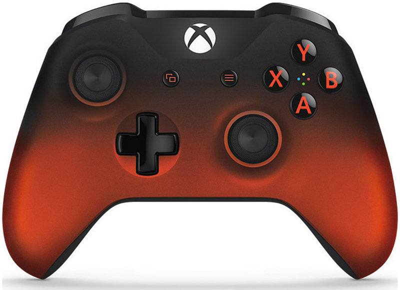 Xbox One Volcano Shadow Special Edition беспроводной геймпад - Геймпады, джойстики, рули