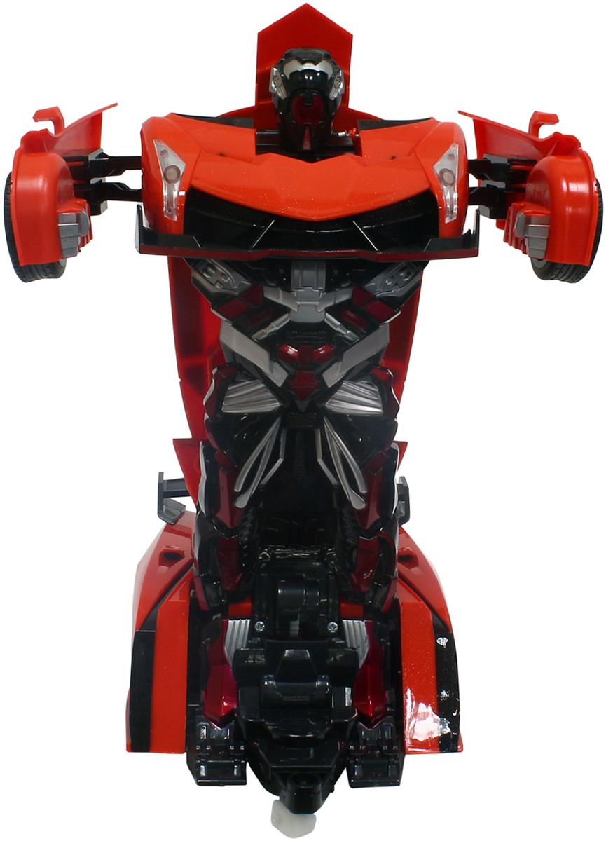 1TOY Робот-трансформер на радиоуправлении Спортивный автомобиль цвет оранжевый автомобиль б у купить в калуге