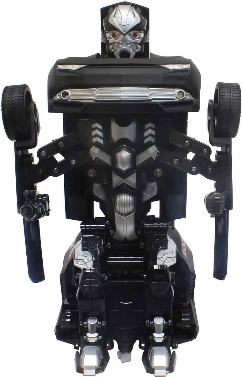 1TOY Робот-трансформер на радиоуправлении Маслкар цвет черный