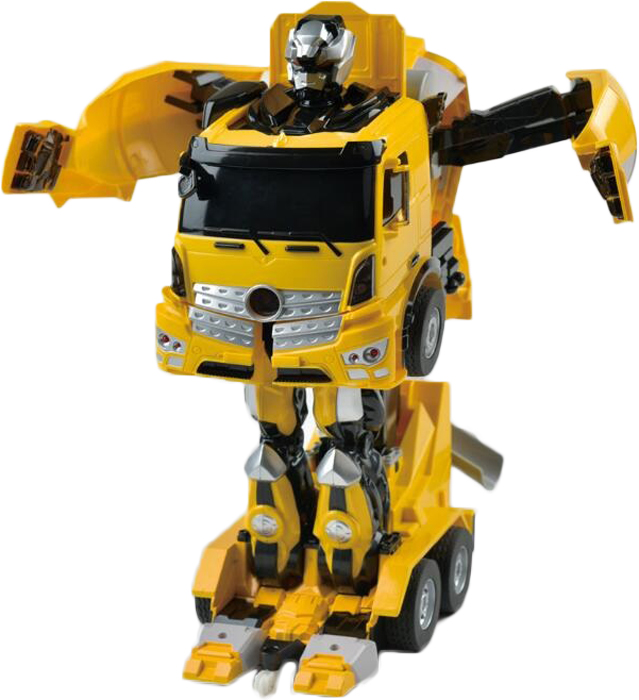 1TOY Робот-трансформер на радиоуправлении Бетономешалку