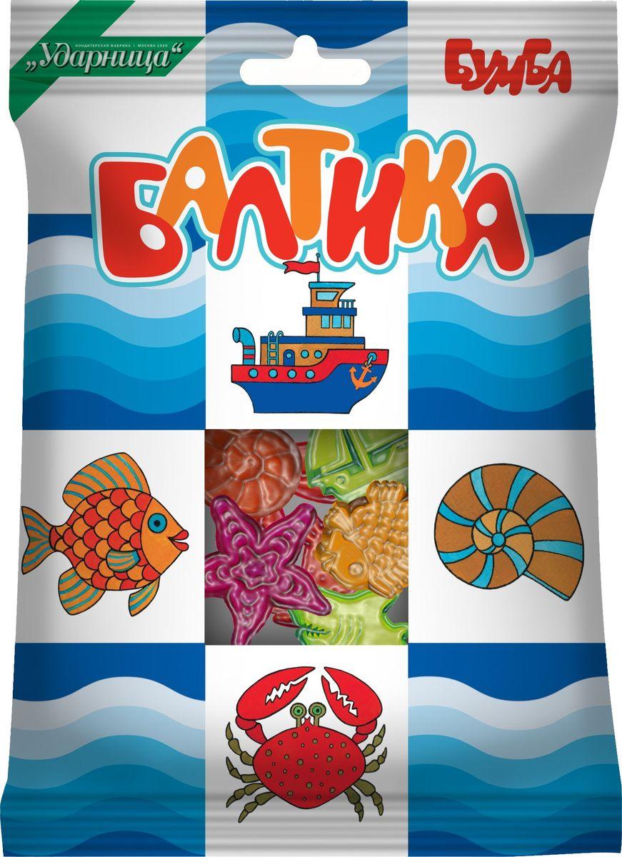 Бумба Балтика жевательный мармелад, 108 г рыба
