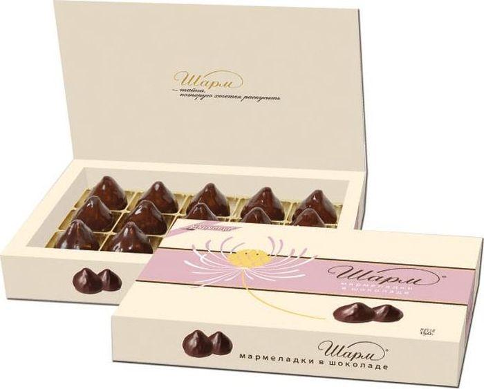 Ударница Шарм мармеладки в шоколаде, 150 г ударница мармелад со вкусом персика 325 г
