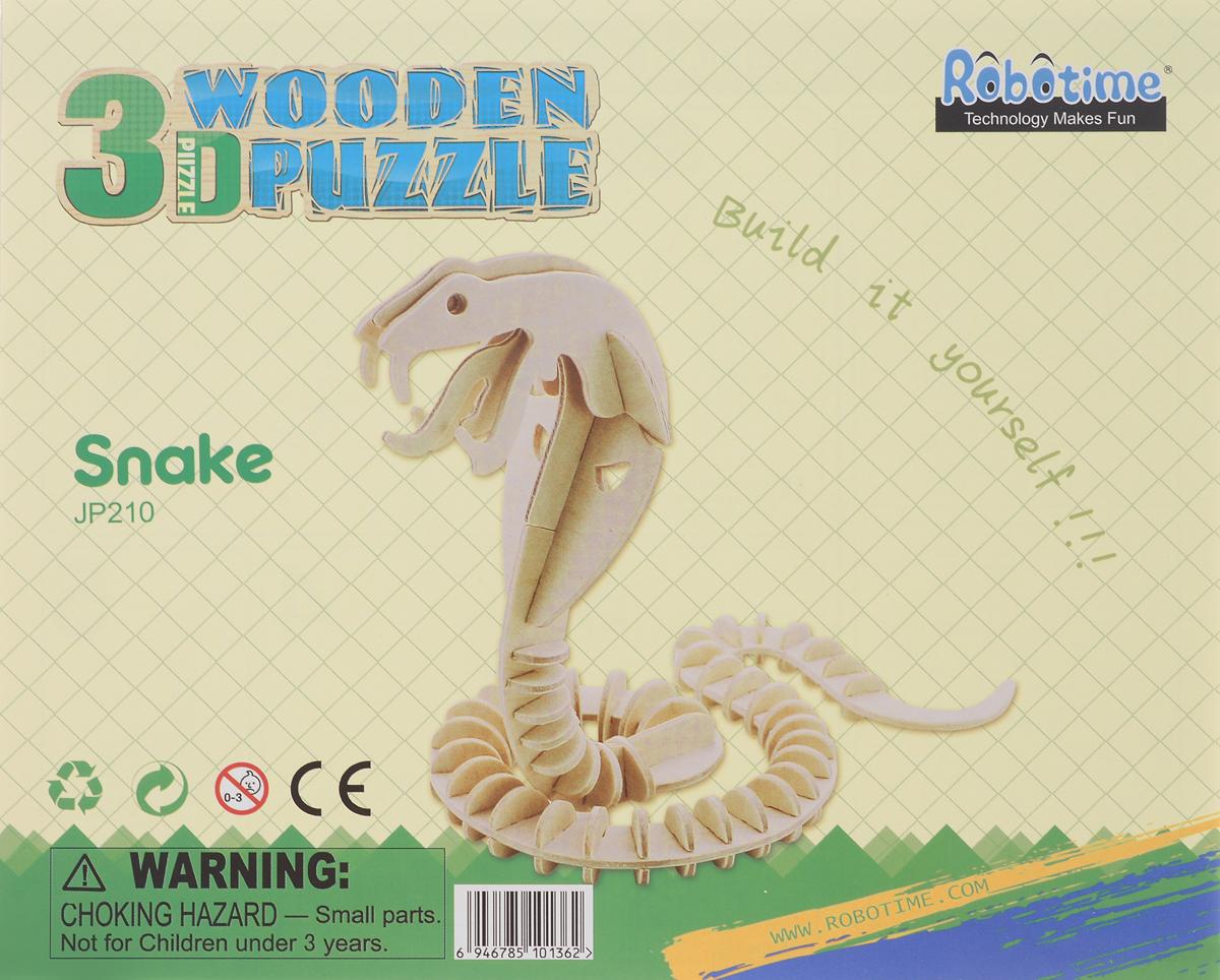 Robotime 3D пазл Змея JP210