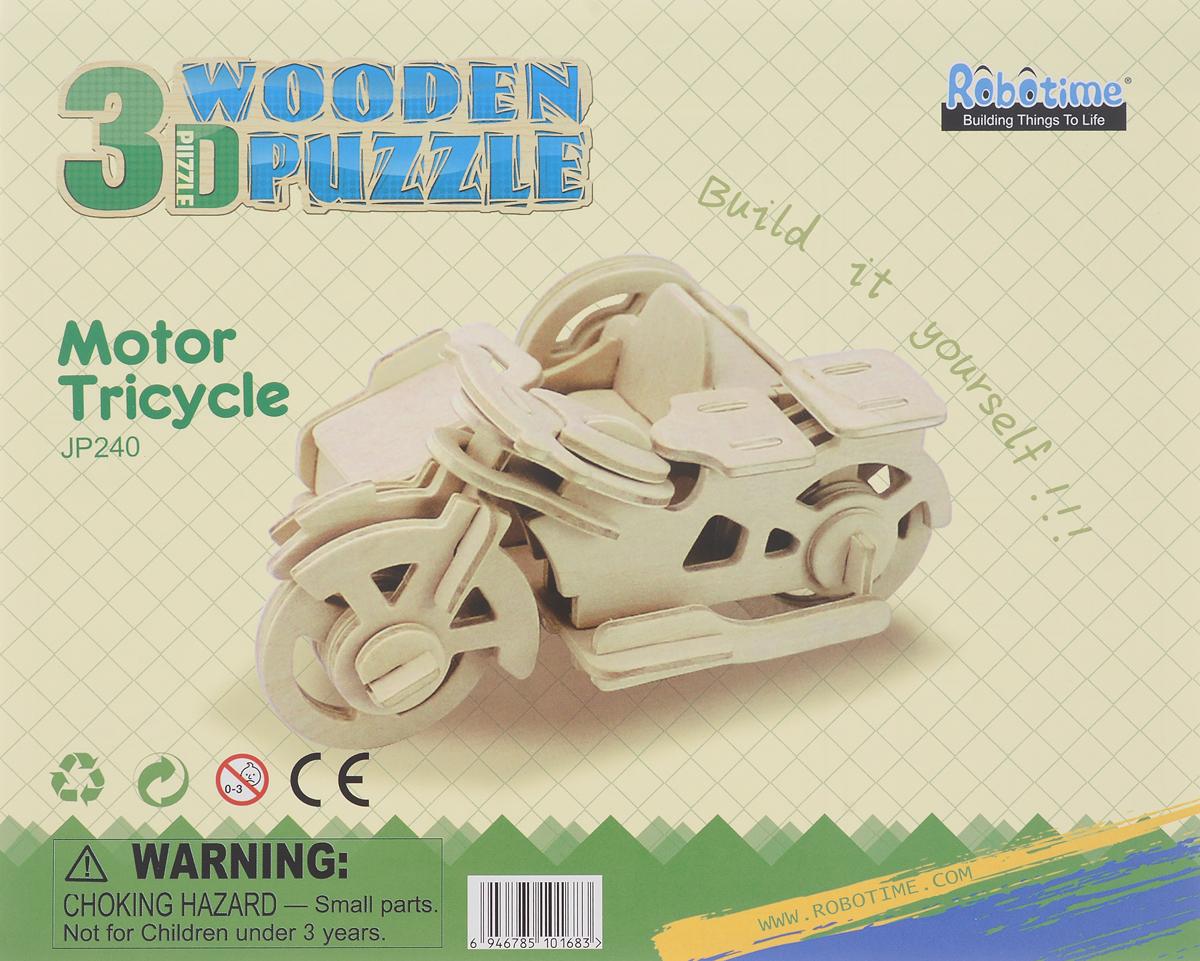 Robotime 3D Пазл Трицикл JP240