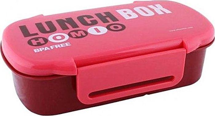 Ланч-бокс Attribute Homio, цвет: красный, бордовый, 740 мл. ATC407ATC407Ланч-бокс Attribute Homio изготовлен из безопасного пищевого пластика. Изделие имеет два отделения для еды. Герметичная крышка с силиконовой прокладкой плотно закрывается на 2 защелки и долго сохраняет продукты свежими. Такой ланч-бокс будет очень полезен в поездках, для работы, учебы. Изделие можно использовать в микроволновой печи, в холодильнике при температуре до -20°С. Можно мыть в посудомоечной машине.