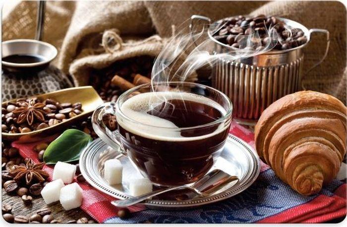 Салфетка под горячее Fenghua Coffee Club, 43,5 х 28 смTAP041Салфетка Fenghua, выполненная из полипропилена, предназначена для сервировки стола. Она служит защитой от царапин и различных следов, а также используется в качестве подставки под горячее. Оригинальный рисунок дополнит стильную сервировку стола.