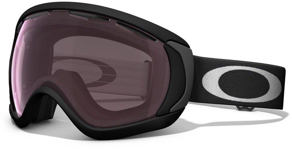 Маска горнолыжная Oakley Canopy, цвет: черный, розовый
