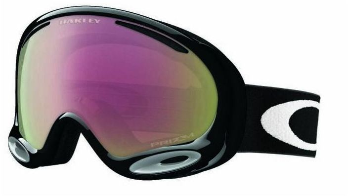 Маска горнолыжная Oakley A-Frame 2.0 Jet, цвет: черный, розовый0OO7044-70445200Маска Oakley A-Frame 2.0 Jet с прогрессивной формой сферических линз, с антизапотевающим покрытием F3 Anti-Fog. Гибкая оправа O Matter с трехслойной мягкой пеной и отделкой из флиса обеспечит исключительные защиту и комфорт. В маске A-Frame 2.0 Jet используется технология Dual Polaric Ellipsoid, которая позволяет расширить область периферийного зрения и сводит на минимум искажения при разных углах зрения. Современнейший материал - Plutonite (поликарбонат), из которого изготовлена двойная, вентилируемая линза, обеспечивает полную защиту от ультрафиолетового и жесткого голубого излучения и соответствует стандарту ANSI Z87.1 и EN 1938:2010 по сопротивлению на удар и оптической корректности. Совместима с большинством шлемов.