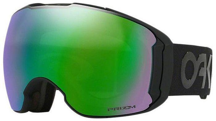 Маска горнолыжная Oakley Airbrake XL, цвет: черный, зеленый, розовый0OO7071-70710301Горнолыжная маска Airbrake с двойными вентилируемыми линзами, она оптимально подходит для крупного типа лиц. Особая геометрия оправы гарантирует комфорт в течение всего дня. Твердая фронтовая часть устраняет давление на лицо в области носа, гибкая часть из материала O Matter обеспечивает плотное прилегание маски к лицу. Подкладка из флиса делает маску еще более удобной. Фирменная система соединения оправы со стрэпом - для равномерного распределение давления на лицо. Линзы из поликарбоната с технологией Prizm обеспечивают 100% защиту от ультрафиолетовых лучей и улучшенную контрастность.Технология Switchlock для быстрой и простой смены линз. Маска совместима с большинством горнолыжных шлемов.
