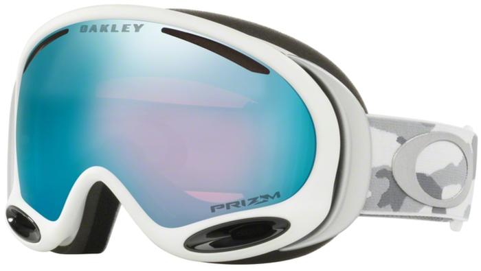 Маска горнолыжная Oakley A-Frame 2.0, цвет: серый, голубой0OO7044-70447200Маска Oakley A-Frame 2.0 Jet с прогрессивной формой сферических линз, с антизапотевающим покрытием F3 Anti-Fog. Гибкая оправа O Matter с трехслойной мягкой пеной и отделкой из флиса обеспечит исключительные защиту и комфорт. В маске A-Frame 2.0 Jet используется технология Dual Polaric Ellipsoid, которая позволяет расширить область периферийного зрения и сводит на минимум искажения при разных углах зрения. Современнейший материал - Plutonite (поликарбонат), из которого изготовлена двойная, вентилируемая линза, обеспечивает полную защиту от ультрафиолетового и жесткого голубого излучения и соответствует стандарту ANSI Z87.1 и EN 1938:2010 по сопротивлению на удар и оптической корректности. Совместима с большинством шлемов.