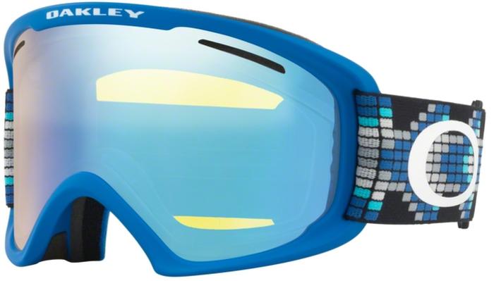 Маска горнолыжная Oakley O Frame 2.0 XL, цвет: голубой, желтый0OO7045-70453500Горнолыжная маска Oakley O Frame 2.0 XL имеет крупные линзы обтекаемой формы расширяют периферический обзор во всех направлениях. Гибкая рамка оправы O Matter адаптируется к форме лица, даже при очень низкой температуре. Тройная прослойка из микрофлиса отводит влагу, благодаря чему маску можно с комфортом носить целый день. Особенности:Покрытие линзы, устойчивое к запотеванию F2 Anti-fog;Совместима со шлемом;Отверстия в районе виска позволяют носить маску вместе с корректирующими зрение очками;Специальное покрытие внутренней части оправы для уменьшения бликов;100% защита от ультрафиолетового излучения;Отвечает стандартам качества ANSI Z87.1 и EN 174:2001.