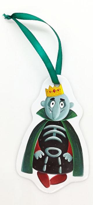 Игрушка картонная новогодняя № 15 «Кащей»TOYNY 15Замечательная безопасная картонная игрушка на ленточке! Милый сувенир на елочку)