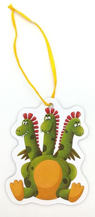 Игрушка картонная новогодняя № 19 «Змей Горыныч»TOYNY 19Замечательная безопасная картонная игрушка на ленточке! Милый сувенир на елочку)