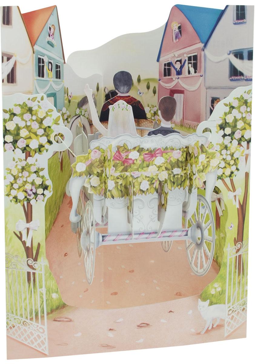 Объемная открытка Santoro