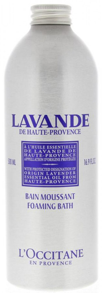 LOccitane Пена для ванн Лаванда, 500 мл451311Пена для ванн LOccitane Лаванда - это лучший способ завершить день, полный забот и стрессов. Насыщеннаяформула средства образует мягкую ароматную пену, которая дарит неповторимые минуты релаксации инастраивает на безмятежный сон. Бархатистая пена бережно окутает кожу заботой и благоухающим ароматомлаванды.Прованс окружен синими лавандовыми полями, умиротворяющий аромат которых витает в воздухе. Это один изпервых цветков, дистиллированных Оливье Боссаном, основателем LOccitane, поэтому многие наши средстваимеют этот нежный аромат. Если вы хотите насладиться покоем и безмятежностью, в этом вам поможет нашаколлекция мыла, ароматов, средств по уходу за телом и кремов для рук.