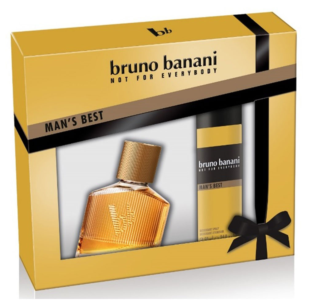 "Bruno Banani Парфюмерный набор ""Mans Best"": туалетная вода 30 мл, дезодорант 50 мл"