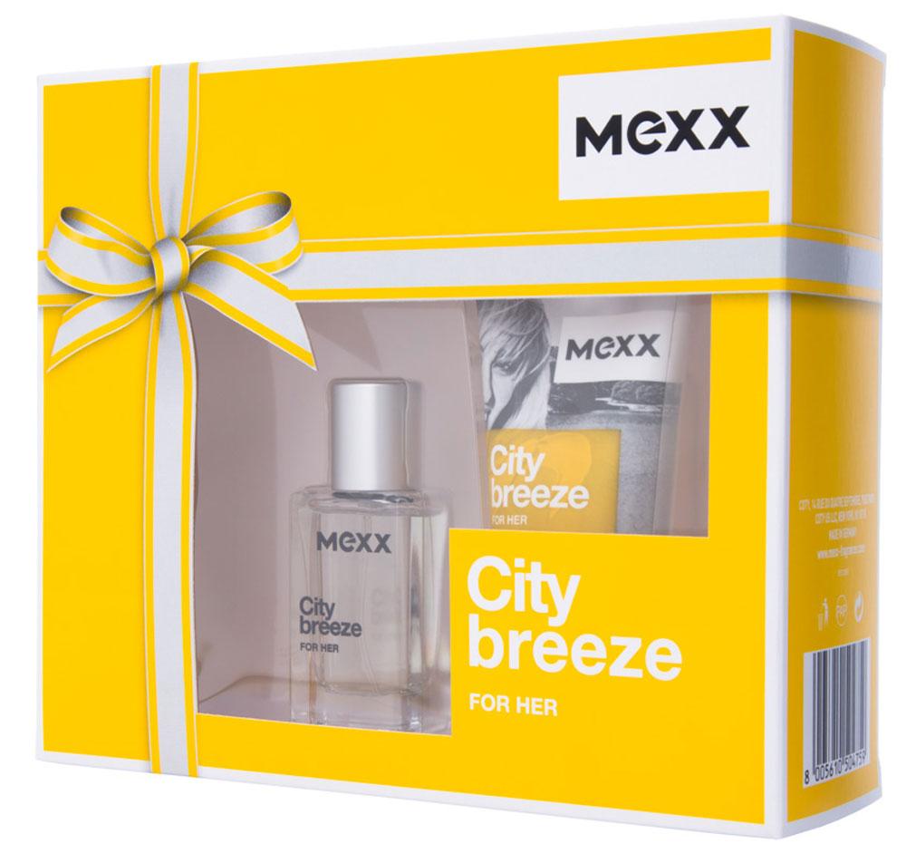 Mexx Парфюмерный набор City Breeze Woman: туалетная вода 15 мл, гель для душа 50 мл8005610504759Жизнь в большом городе похожа на захватывающее приключение, но иногда городская суета угнетает. Mexx City Breeze, как глоток свежего воздуха, позволяет вырваться из городского стресса. Наслаждаясь захватывающей городской панорамой с высоты птичьего полета, почувствуй City Breeze.Краткий гид по парфюмерии: виды, ноты, ароматы, советы по выбору. Статья OZON Гид
