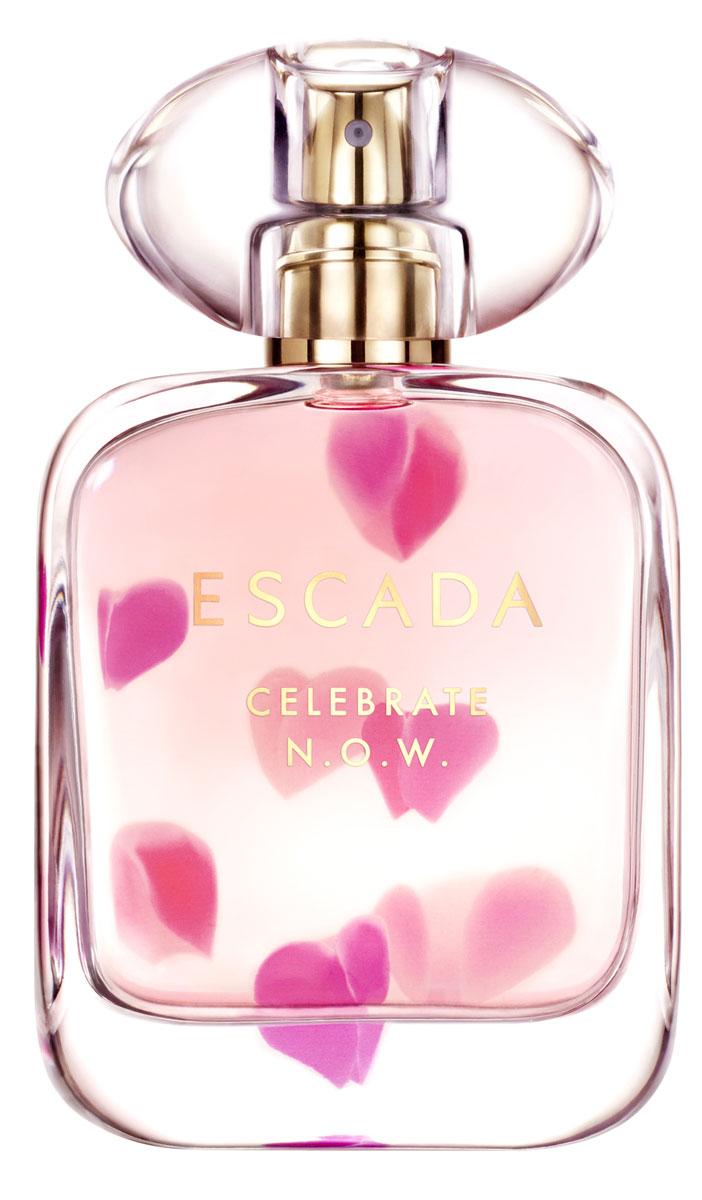 Escada Celebrate Now Парфюмерная вода 50 мл8005610516103Позитивный настрой – осознанный выбор. Улыбнись миру – он улыбнется в ответ. Пообещай себе принимать каждый момент жизни и живи настоящим. В этом заключается природа женщины.