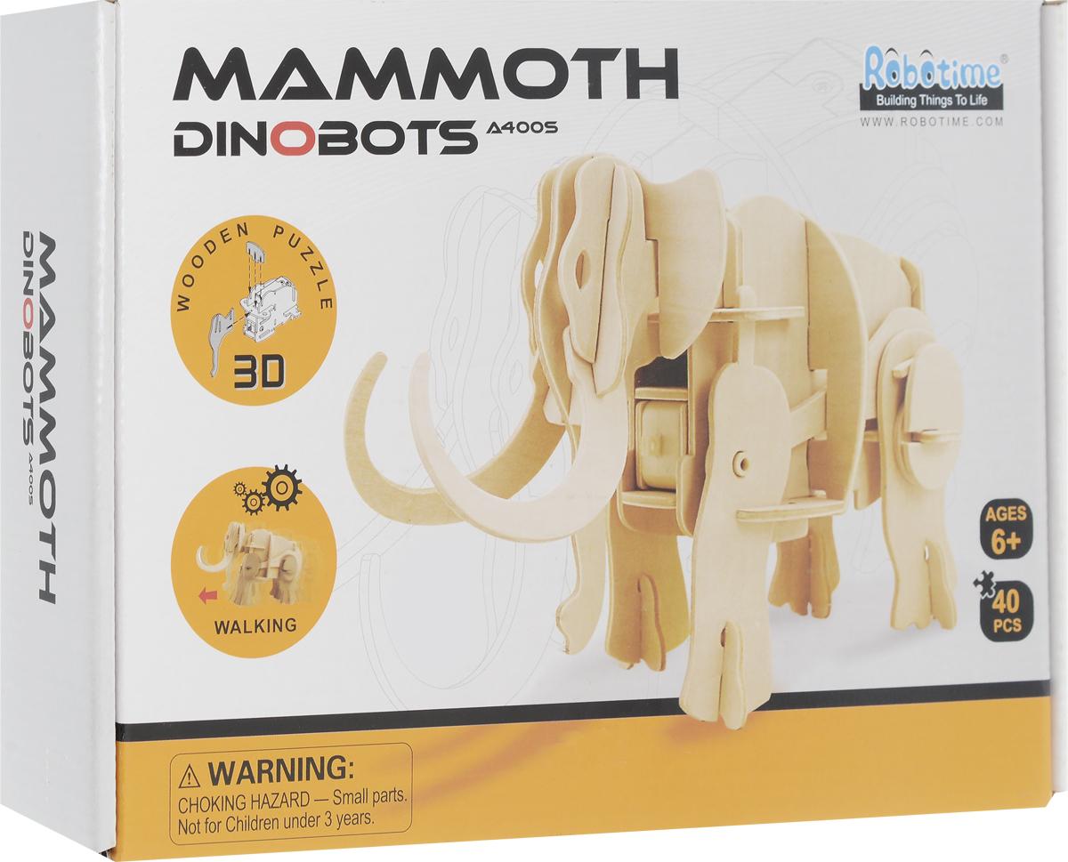 Robotime 3D Пазл Мамонт