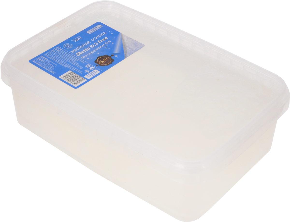 """Мыльная основа """"Activ SLS free"""", цвет: прозрачный, 1 кг. 81870, Выдумщики"""