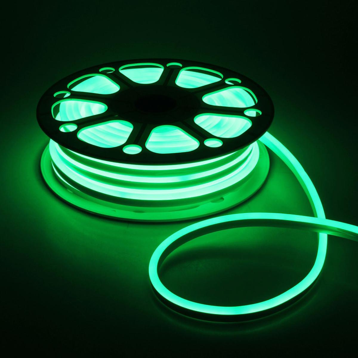 Гирлянда светодиодная Luazon, 120 ламп, 220 V, цвет: зеленый, 0,8 см х 1,6 см х 25 м. 14312531431253Светодиодные гирлянды, ленты и т.д — это отличный вариант для новогоднего оформления интерьера или фасада. С их помощью помещение любого размера можно превратить в праздничный зал, а внешние элементы зданий, украшенные ими, мгновенно станут напоминать очертания сказочного дворца. Такие украшения создают ауру предвкушения чуда. Деревья, фасады, витрины, окна и арки будто специально созданы, чтобы вы украсили их светящимися нитями.