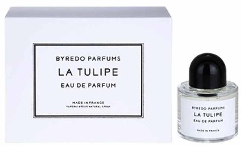 Byredo La Tulipe парфюмерная вода, 50 мл965431Верхние ноты: белая фрезия, цикламен, ревень; Средние ноты: розовый тюльпан; Базовые ноты: древесные ноты, ветивер, зеленые ноты