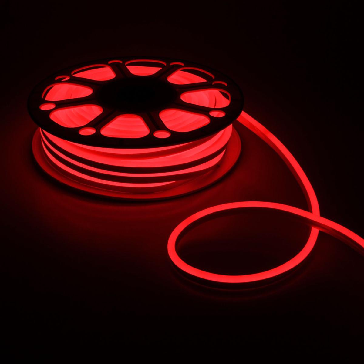 Гирлянда светодиодная Luazon, 120 ламп, 220 V, цвет: красный, 0,8 см х 1,6 см х 25 м. 14312521431252Светодиодные гирлянды, ленты и т.д — это отличный вариант для новогоднего оформления интерьера или фасада. С их помощью помещение любого размера можно превратить в праздничный зал, а внешние элементы зданий, украшенные ими, мгновенно станут напоминать очертания сказочного дворца. Такие украшения создают ауру предвкушения чуда. Деревья, фасады, витрины, окна и арки будто специально созданы, чтобы вы украсили их светящимися нитями.