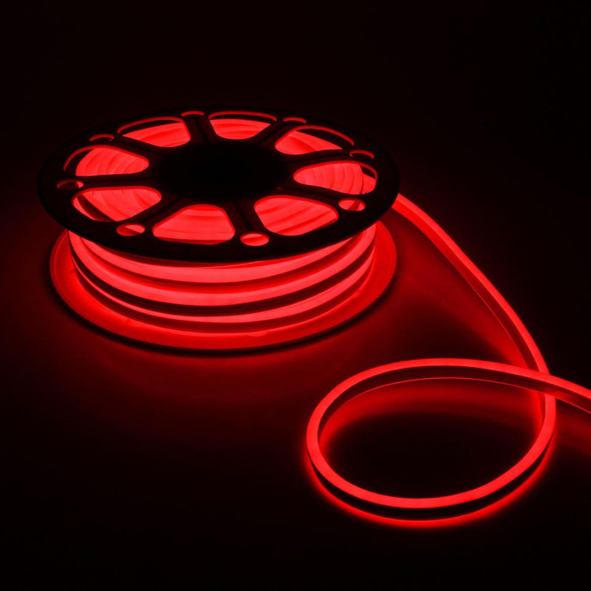 Гирлянда светодиодная Luazon, 120 ламп, 220 V, цвет: красный, 0,8 см х 1,8 см х 25 м. 14312791431279Светодиодные гирлянды, ленты и т.д — это отличный вариант для новогоднего оформления интерьера или фасада. С их помощью помещение любого размера можно превратить в праздничный зал, а внешние элементы зданий, украшенные ими, мгновенно станут напоминать очертания сказочного дворца. Такие украшения создают ауру предвкушения чуда. Деревья, фасады, витрины, окна и арки будто специально созданы, чтобы вы украсили их светящимися нитями.