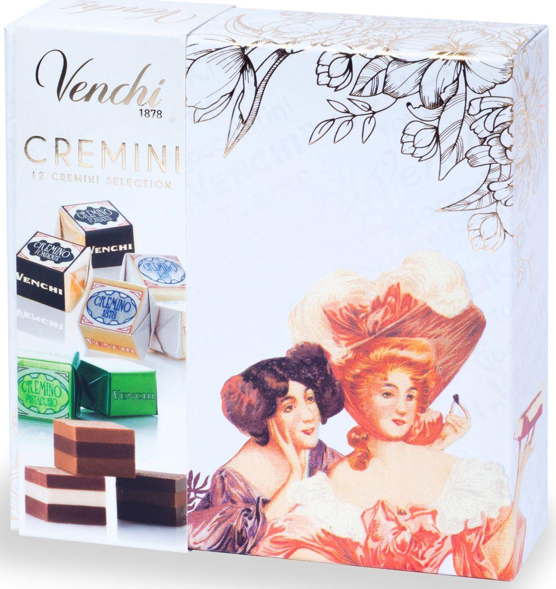 Venchi Cremino набор шоколадных конфет, 130 г шоколадные годы конфеты ассорти 190 г