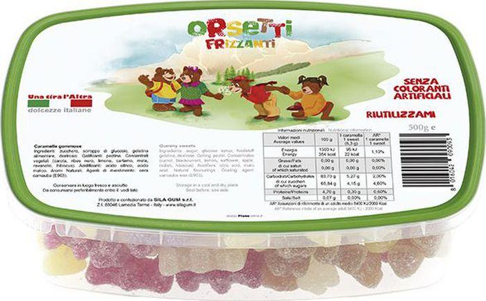 Silagum Веселые мишки мармелад, 500 г89009Мармелад создан по итальянскому рецепту специально для детей: он гипоаллергенен, не содержит искусственных добавок и красителей. Без ГМО.