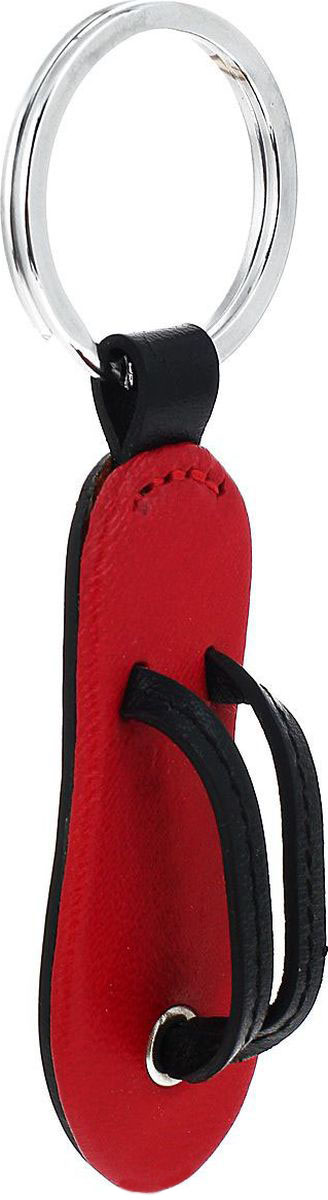 Брелок женский Petek 1855, цвет: красный. 1516.4000.10Натуральная кожаБрелок для ключей Petek 1855 выполнен из натуральной кожи. Изделие оснащено металлическим кольцом.Такой брелок станет стильным дополнением к ключам.