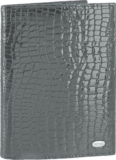 Обложка на паспорт Petek 1855, цвет: антрацитовый. 581.091.26Натуральная кожаОбложка на паспорт Petek 1855 классической модели из мягкой и приятной на ощупь 100% натуральной кожи теленка, знаменитое турецкое высокое качество, имеющее многовековую традицию.Размер: 9,5 х 13,5 см.