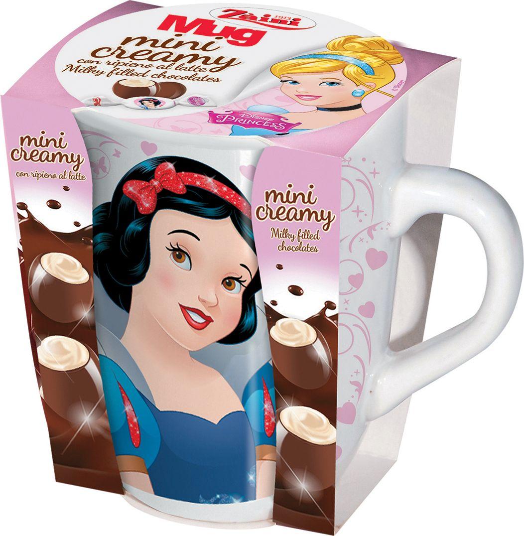 Zaini Disney Princess молочный шоколад в керамической кружке, 47 г disney princess train case
