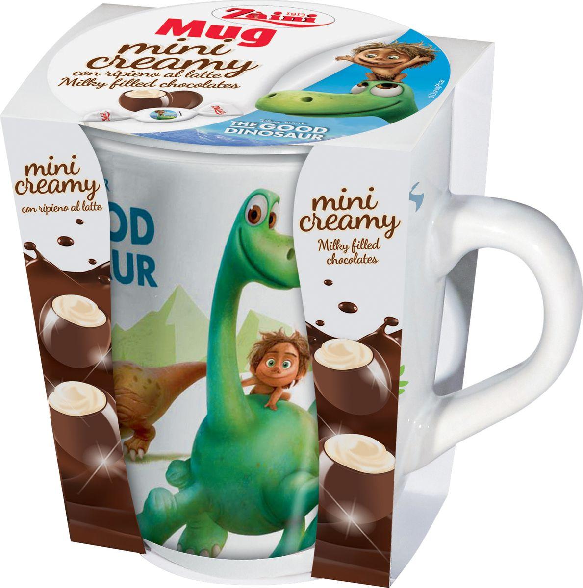 Zaini The Good Dinosaur молочный шоколад в керамической кружке, 47 г good dinosaur 62006 хороший динозавр маленькая подвижная фигурка юный анкилозавр