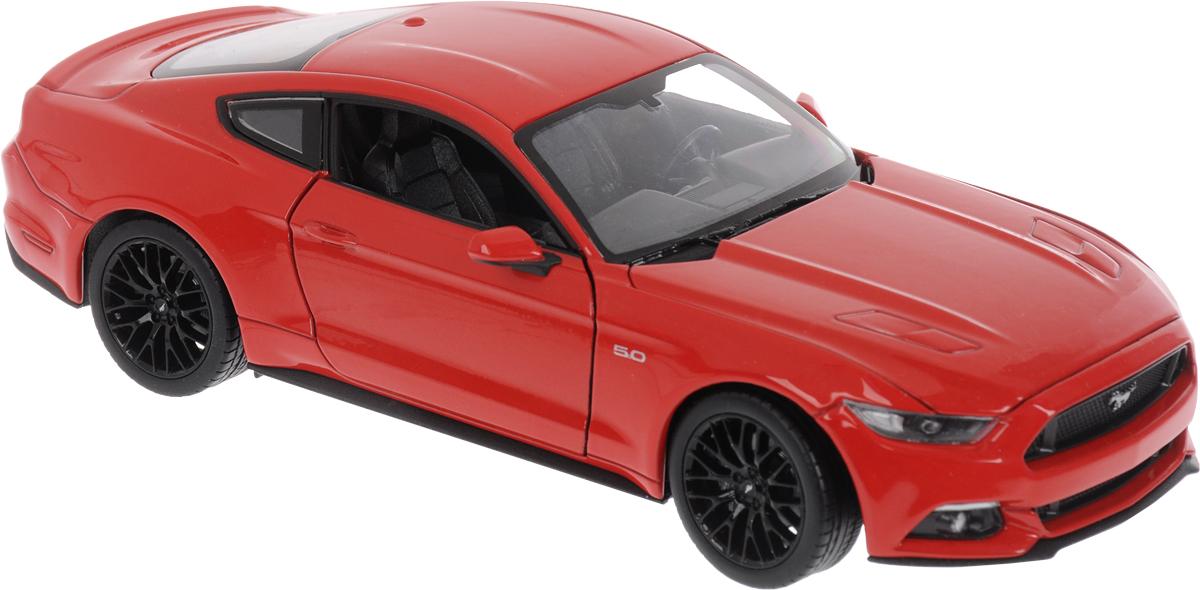 Welly Модель автомобиля Ford Mustang GT цвет красный - Транспорт, машинки