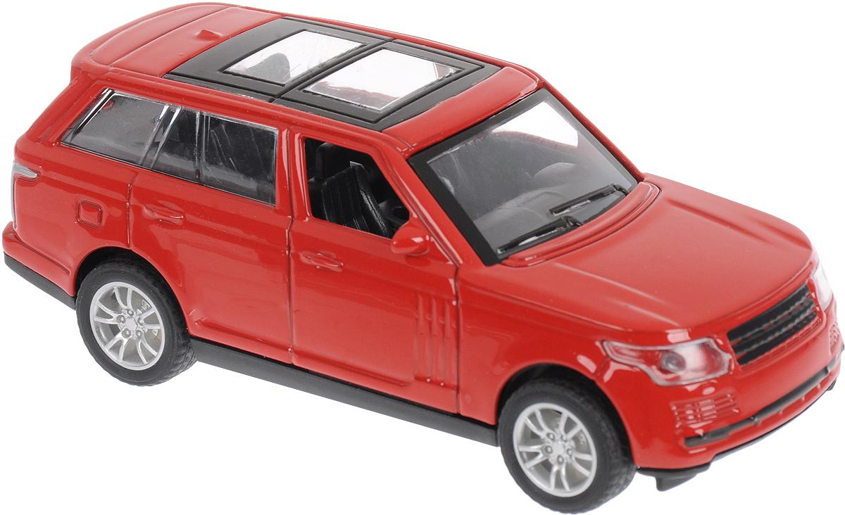Autogrand Машинка England Elite Allroad цвет красный пламенный мотор машинка инерционная volvo пожарная охрана
