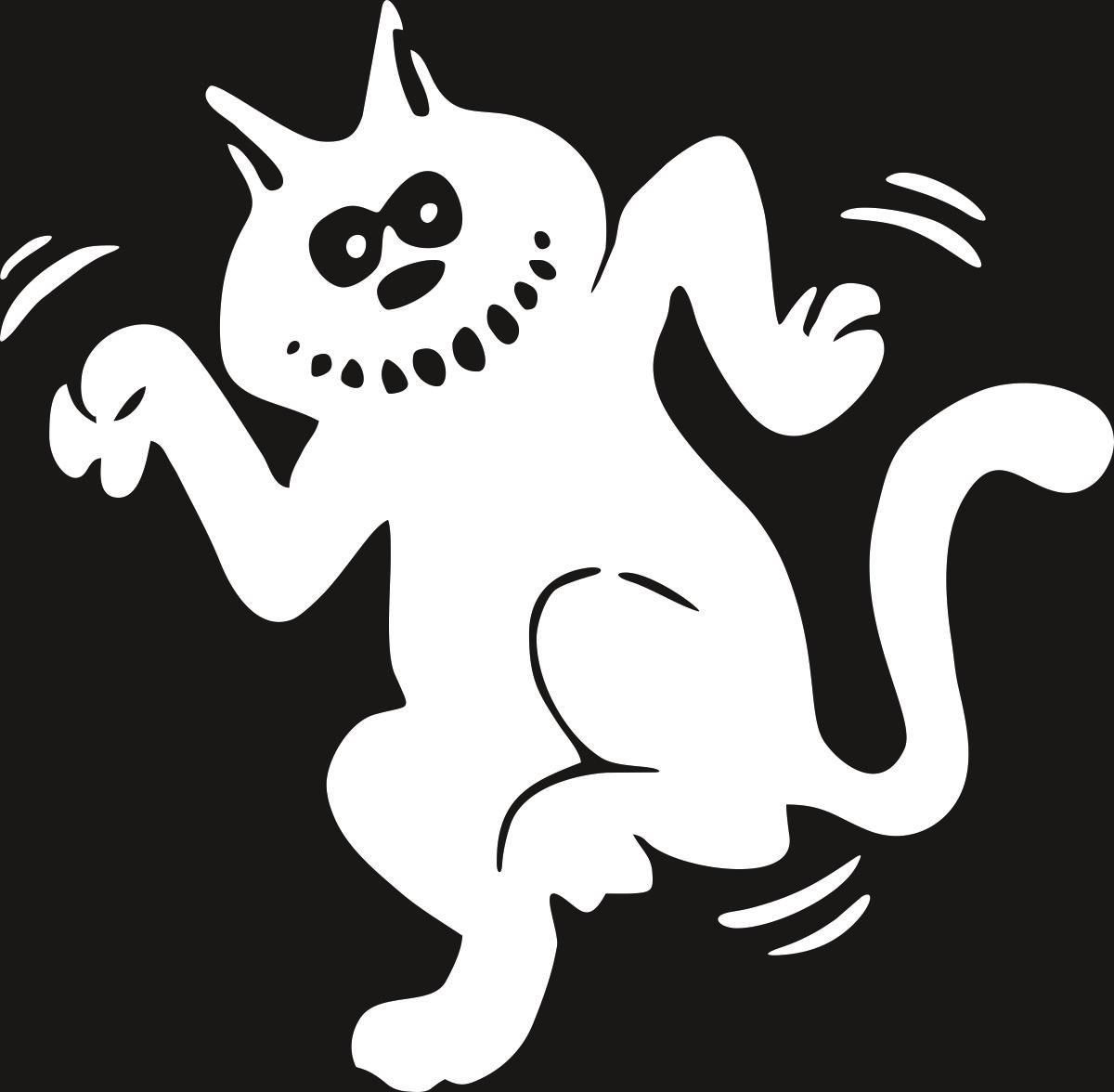 Виниловая наклейка Оранжевый Слоник Танцующий кот, цвет: белый150PR00035WНаклейки изготавливаются из долговечного винила, выполняет декоративную функцию. Клеится на стекло или элемент кузова.
