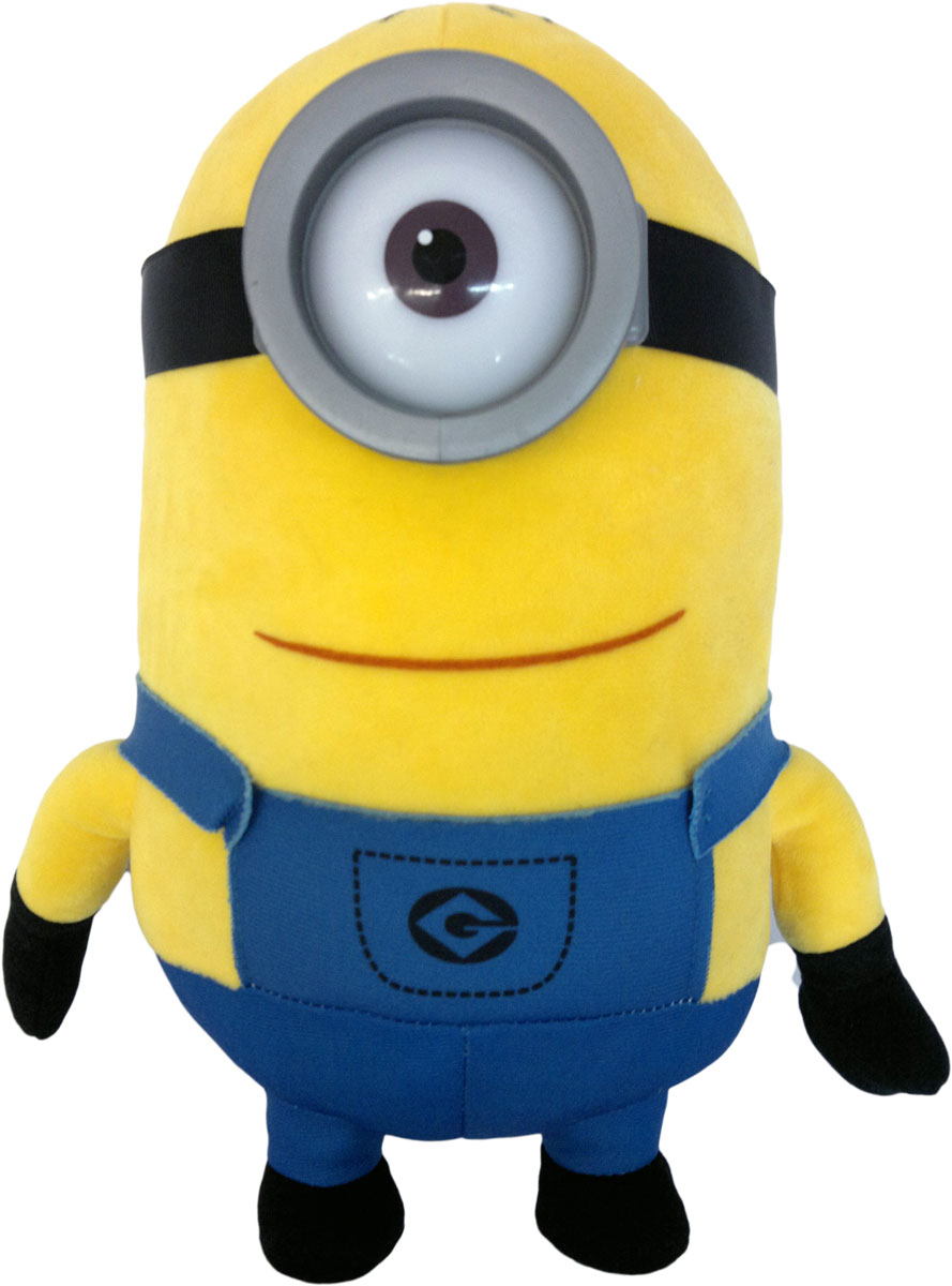 СмолТойс Мягкая игрушка Миньон Стюарт 25 см