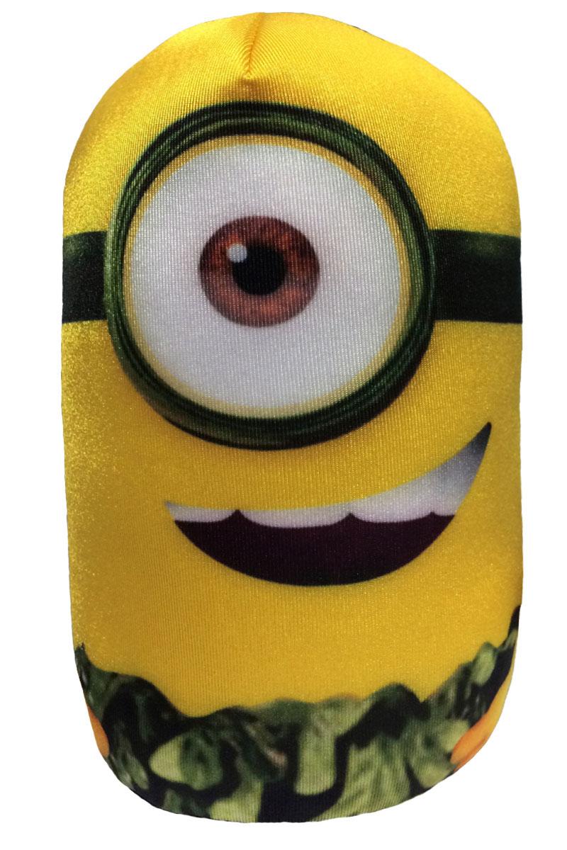 СмолТойс Игрушка-подушка Миньон 20 см 2876/ЖЛ/20 смолтойс мягкая игрушка зайка даша цвет салатовый 41 см