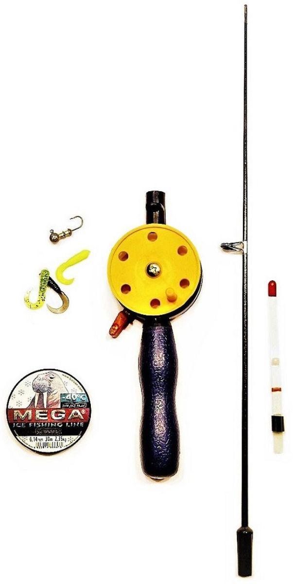 Набор для зимней рыбалки Аляска Твистер, 8 предметов