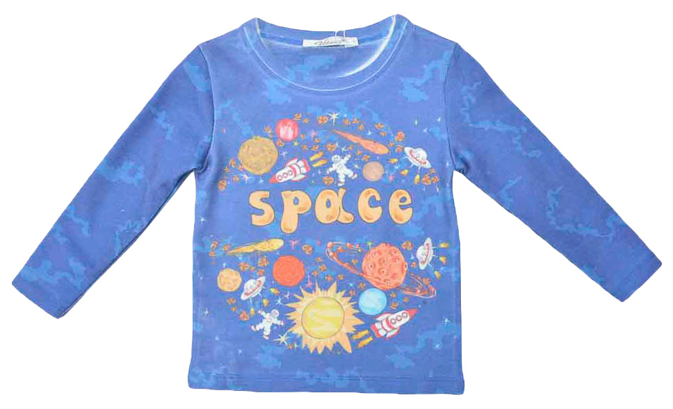 Джемпер для мальчика Vitacci, цвет: синий. 1161063-04. Размер 1221161063-04Джемпер для мальчика Vitacci выполнен из нейлона и полиэстера. Модель с круглым вырезом горловины и длинными рукавами, оформлена стильным принтом.