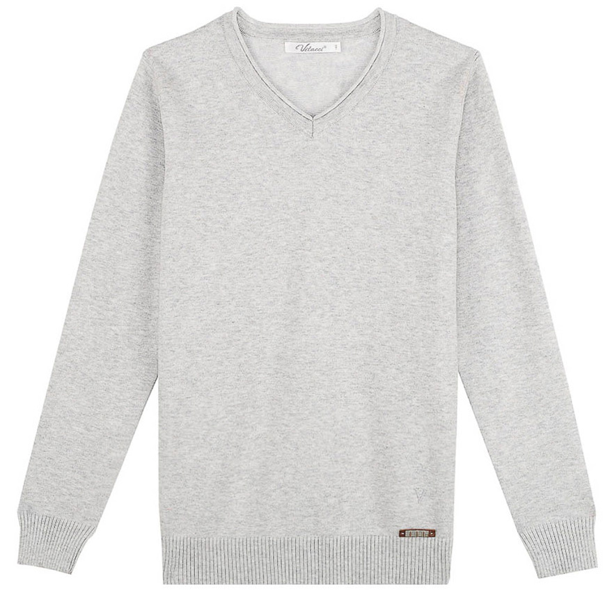 Джемпер для мальчика Vitacci, цвет: серый. 1171392-02. Размер 146 броги мужские vitacci цвет серый m17048 размер 45