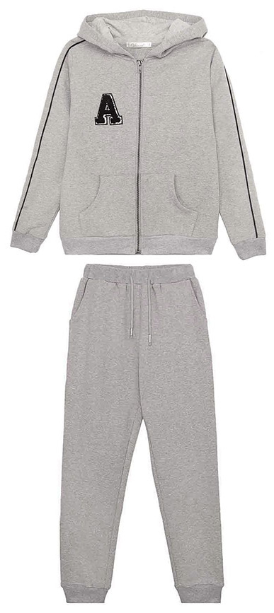 Спортивный костюм для мальчиков Vitacci, цвет: серый. 1171442-02. Размер 1641171442-02