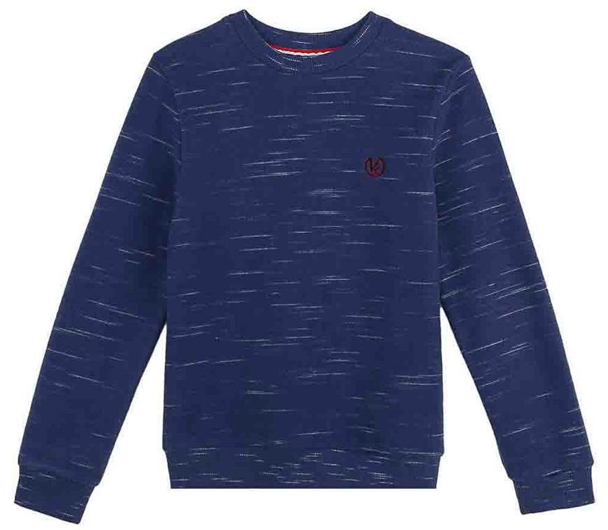 Джемпер для мальчика Vitacci, цвет: синий. 1171456-17. Размер 1341171456-17
