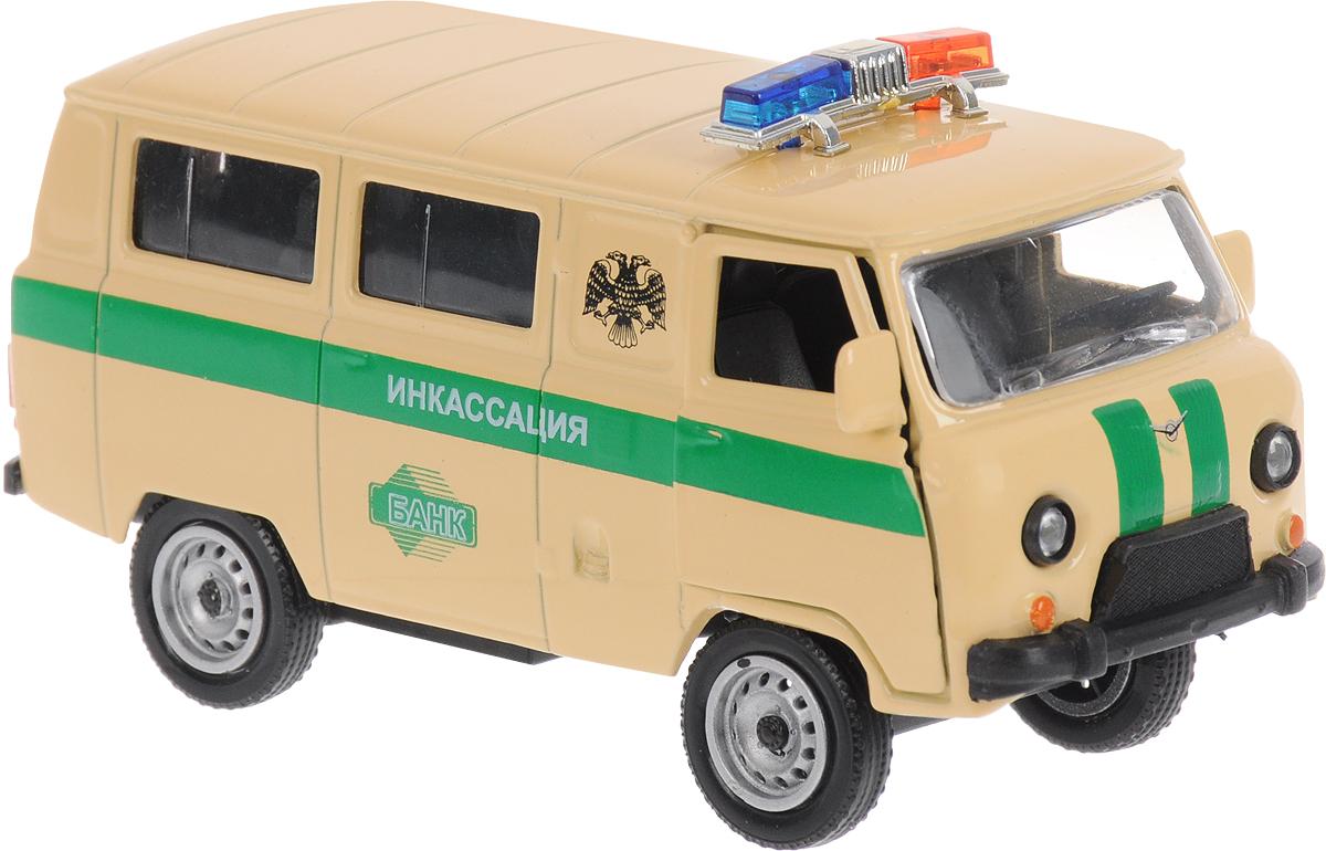 Autotime Модель автомобиля UAZ 39625 Инкассация autotime модель автомобиля uaz 39625 дорожные работы