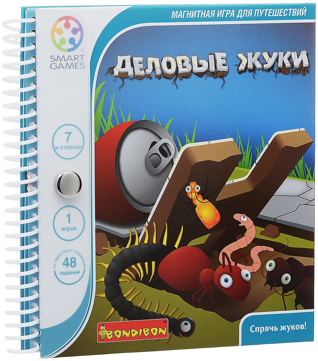 Bondibon Обучающая игра Деловые жуки