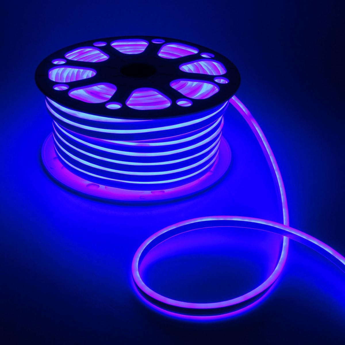 Гирлянда светодиодная Luazon, 120 ламп, 220 V, цвет: синий, 0,8 см х 1,8 см х 50 м. 14312901431290Светодиодные гирлянды, ленты и т.д — это отличный вариант для новогоднего оформления интерьера или фасада. С их помощью помещение любого размера можно превратить в праздничный зал, а внешние элементы зданий, украшенные ими, мгновенно станут напоминать очертания сказочного дворца. Такие украшения создают ауру предвкушения чуда. Деревья, фасады, витрины, окна и арки будто специально созданы, чтобы вы украсили их светящимися нитями.
